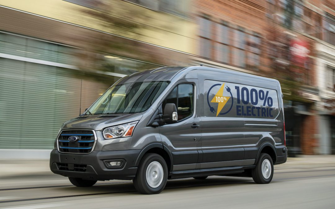Ford Looks to Gain Commercial EV Leadership Spot with 2022 E-Transit Van