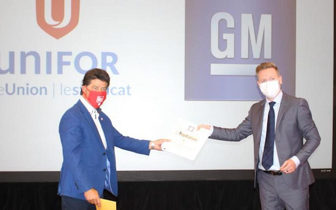 Unifor Reaches Tentative Deal with GM after Extending Old Contract to Keep Talking
