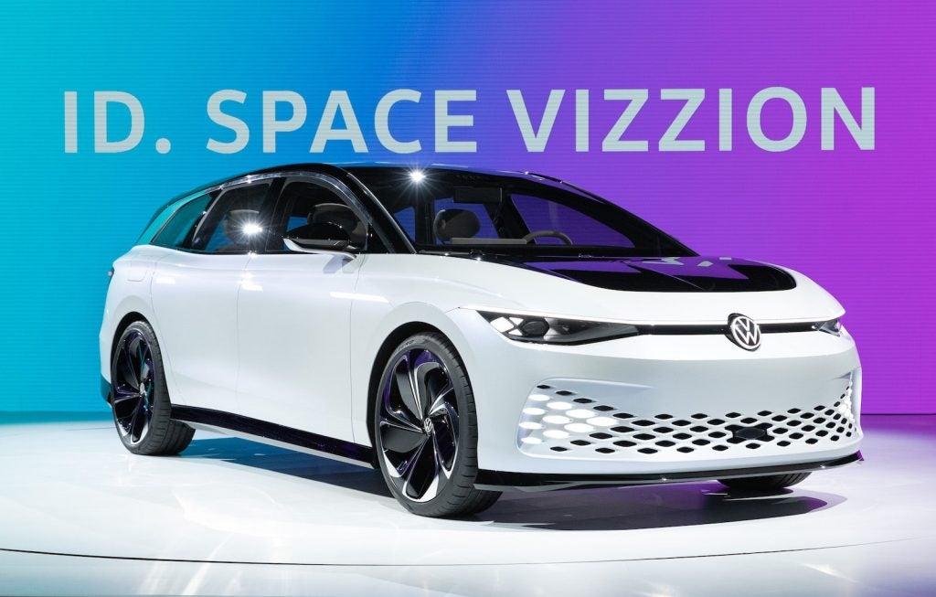 VW ID Space Vizzion front at LA 2019