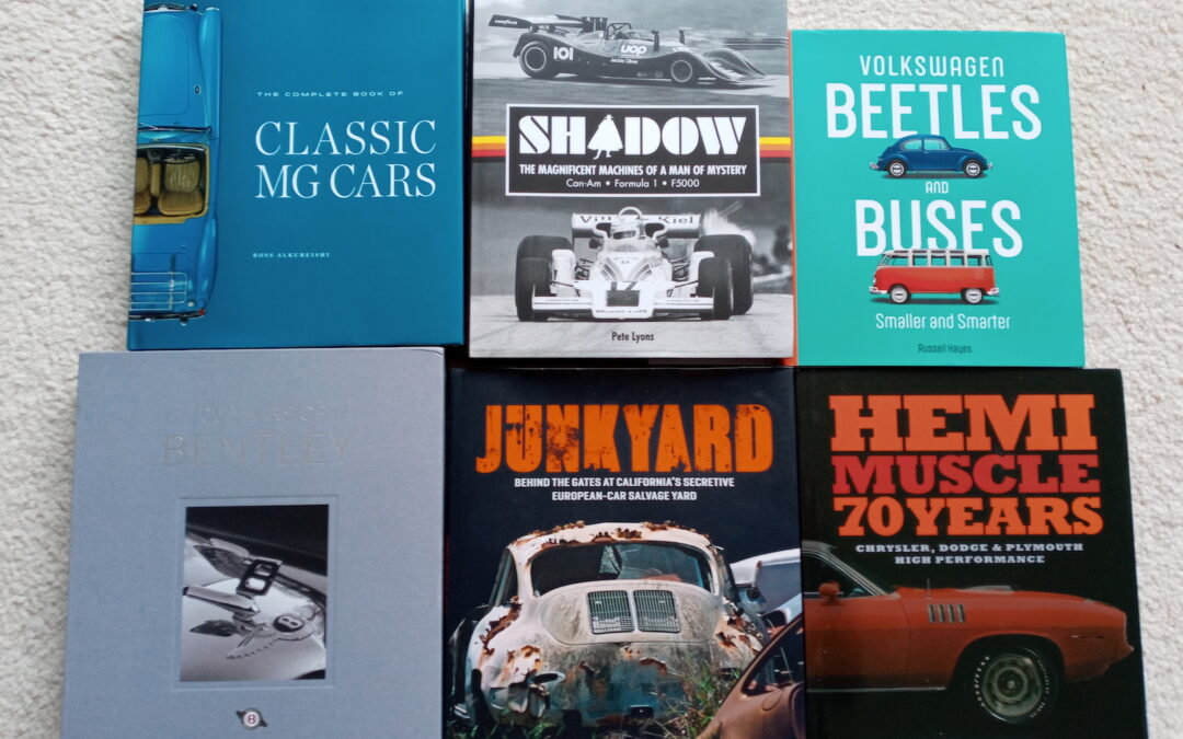 Auto-Themed Book an Ideal a Last-Minute Gift for the Car Fan on Your List