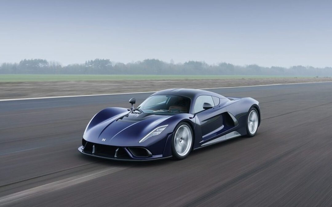 Hennessey Looks to Make Run at Speed Record in New Venom F5