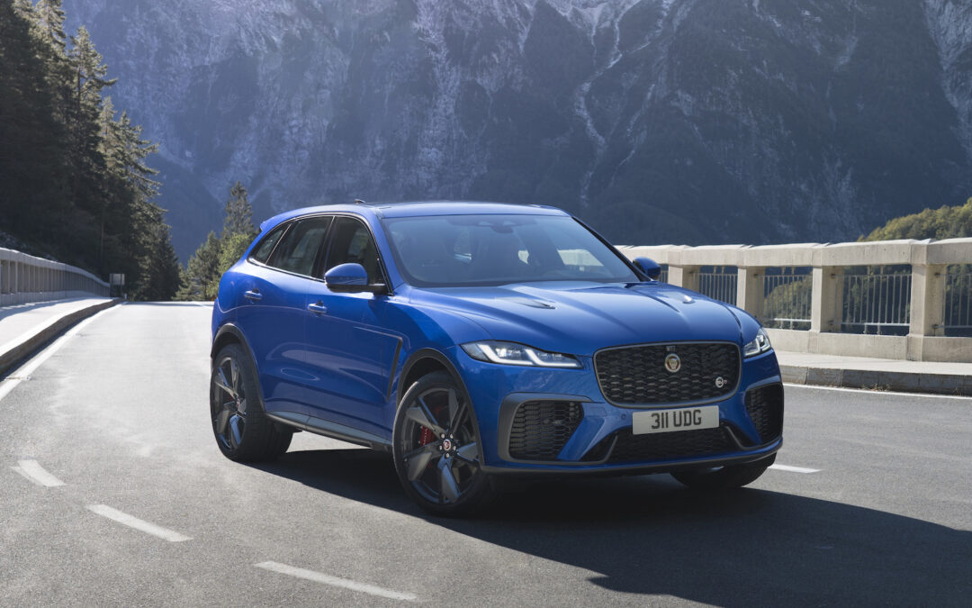 Jaguar's SUV Line Muscles Up With 2021 F-Pace SVR Debut