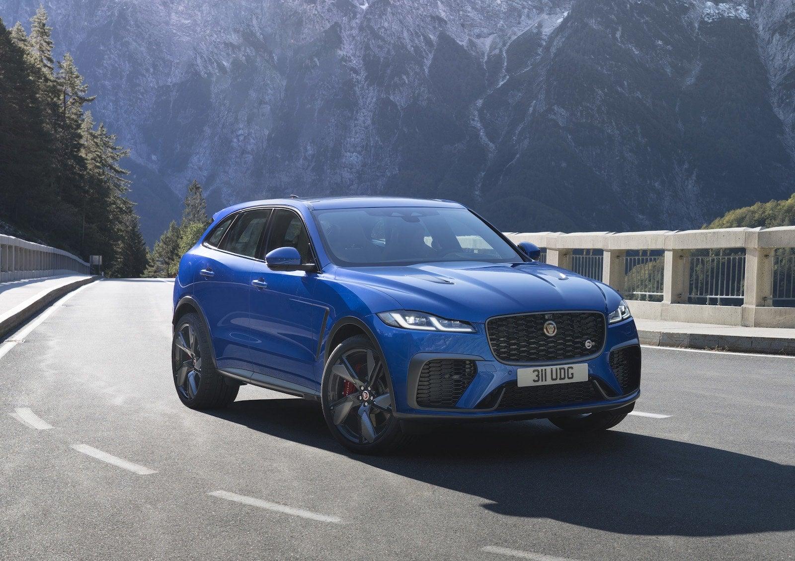 Jaguar S Suv Line Muscles Up With 2021 F Pace Svr Debut The Detroit Bureau