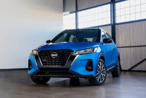 2021 Nissan Kicks front