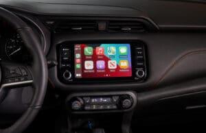 2021 Nissan Kicks touchscreen