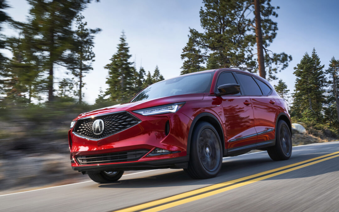 First Look: 2022 Acura MDX