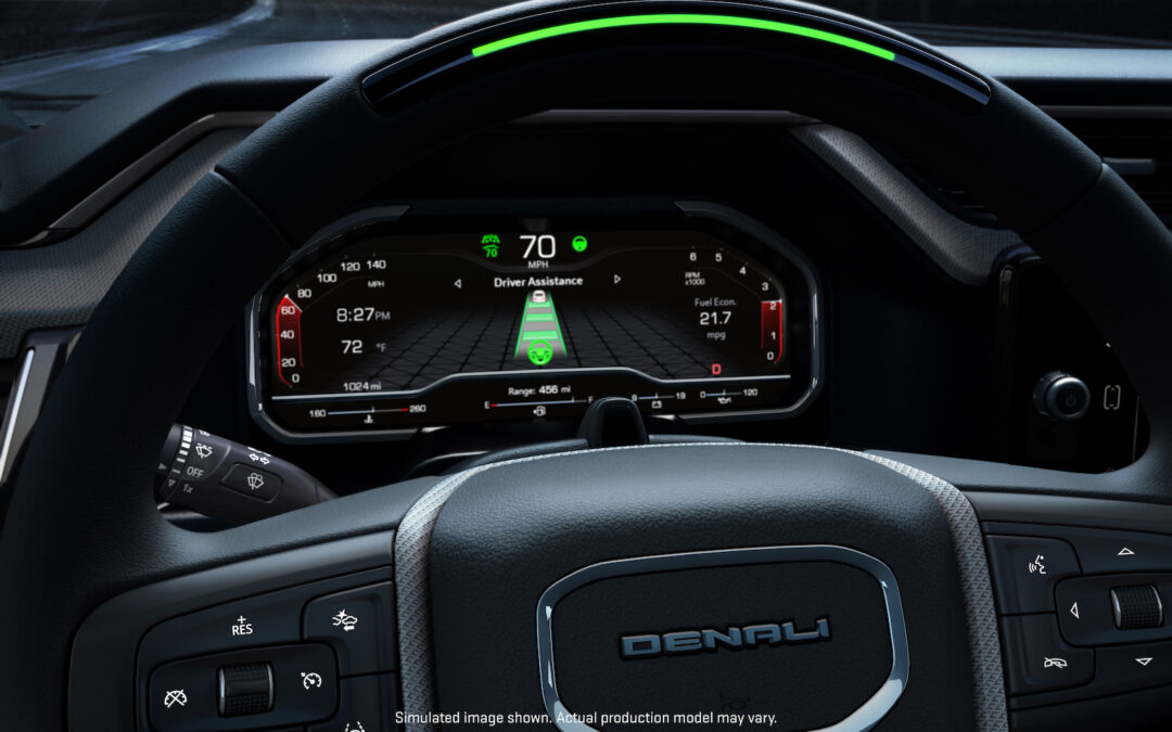 GMC Sierra Will be First Hands-Free System to Let Motorists Tow with Updated Super Cruise