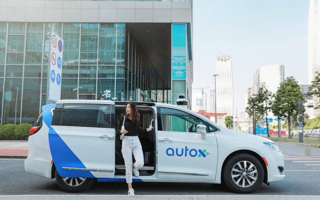 AutoX Debuts China's First Public Driverless Robotaxi Service