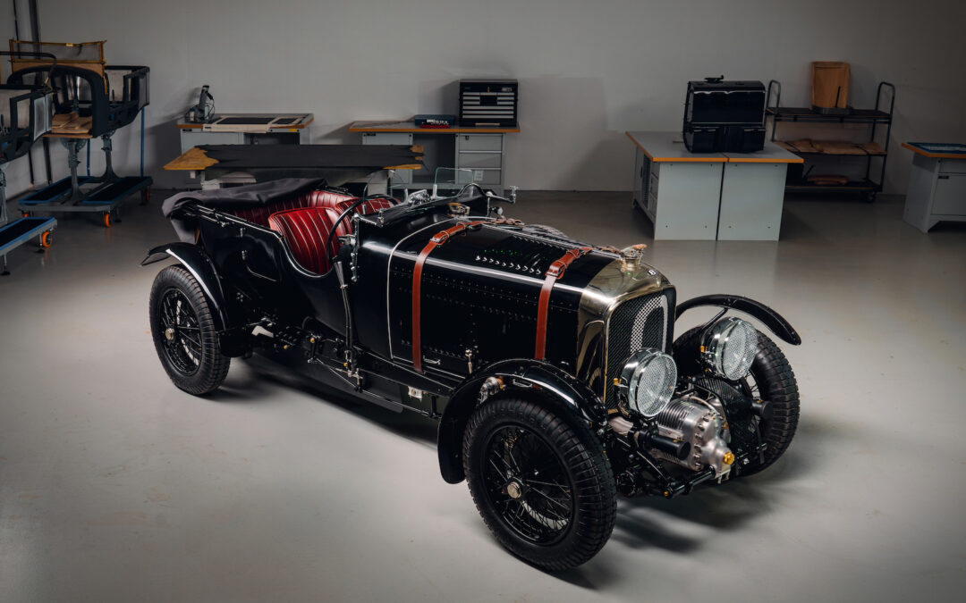 New Bentley Division Builds a 90-Year-Old Bentley Blower