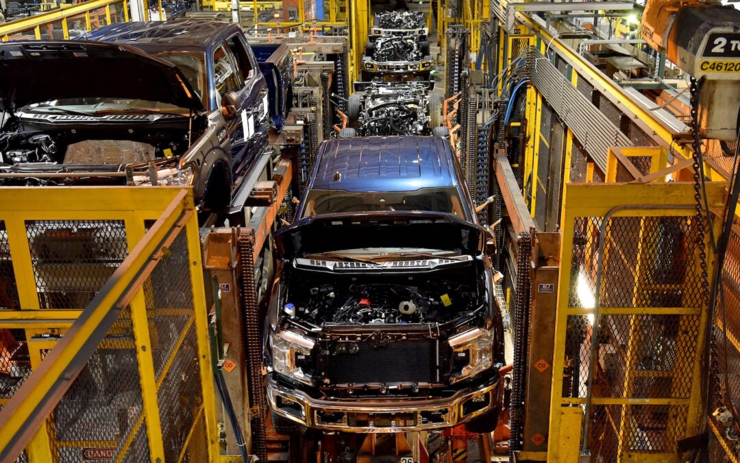 Plant Shutdowns Extend into April for Detroit Automakers