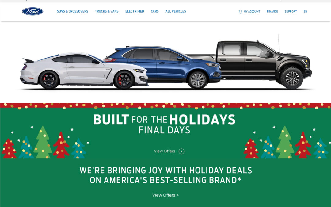 Big Red Ribbons Means Big Holiday Savings on New Vehicles