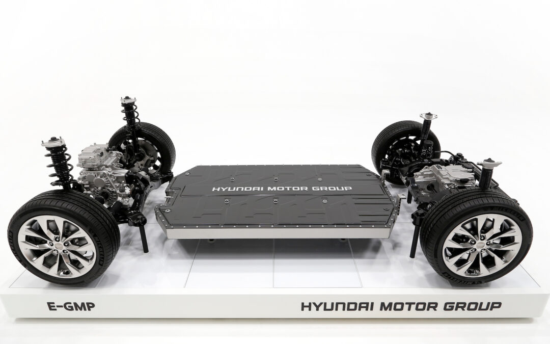 Hyundai Motor Group Reveals E-GMP Platform to be Used on 23 All-Electric Models