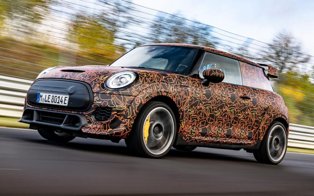Mini Plans All-Electric John Cooper Works