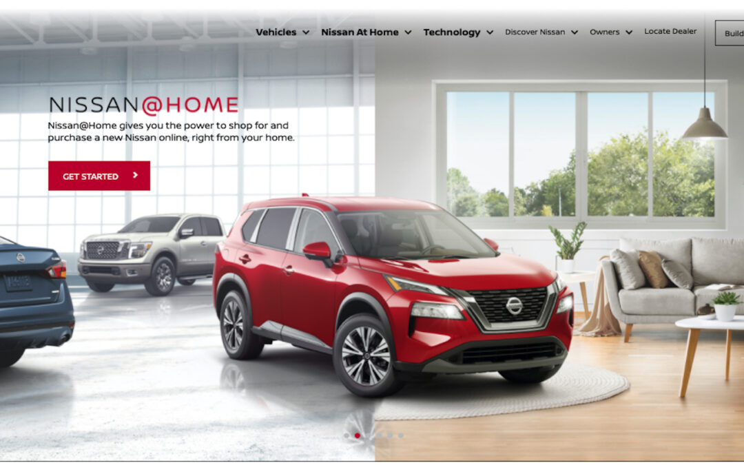 Nissan Taking the Lead in Online New Vehicle Sales