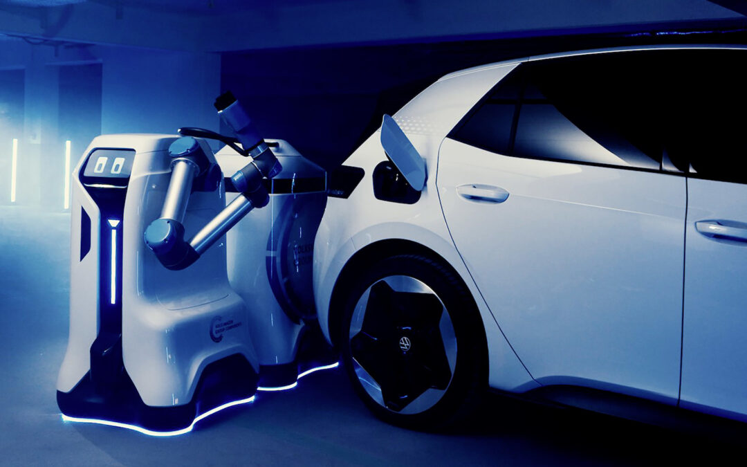 Volkswagen Creates a Robot for Charging EVs