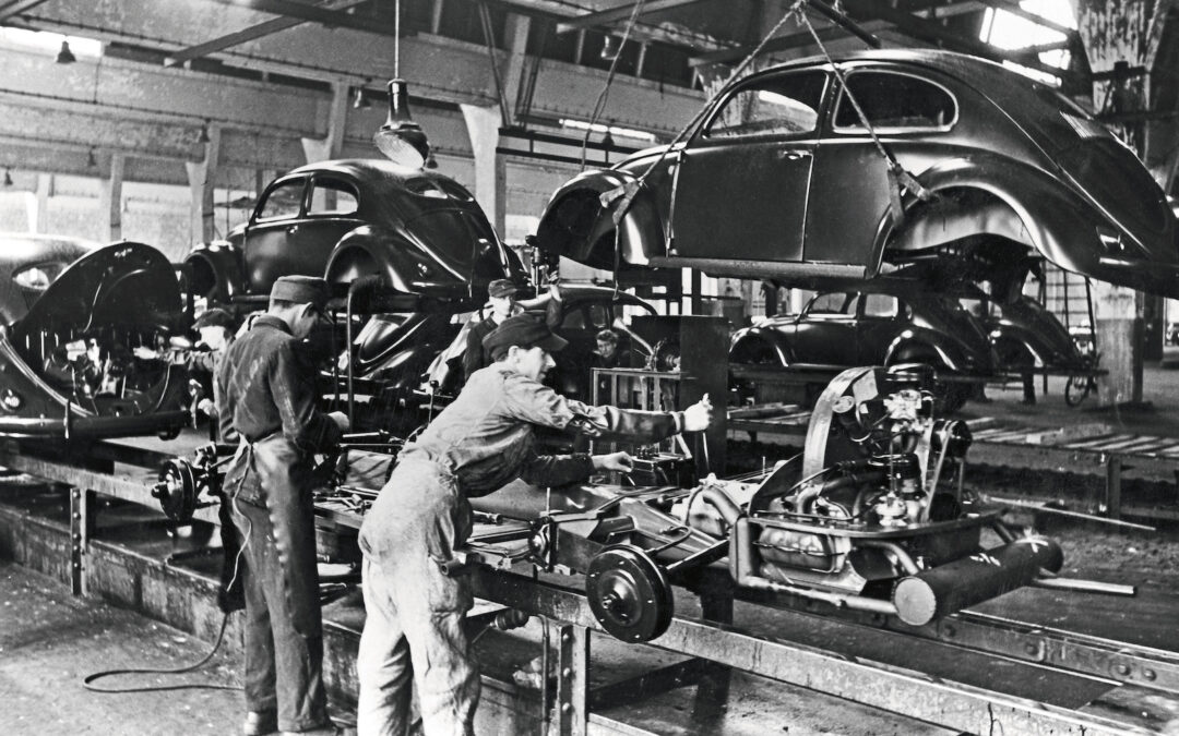 VW Made History 75 Years Ago, Starting Production of the Beetle