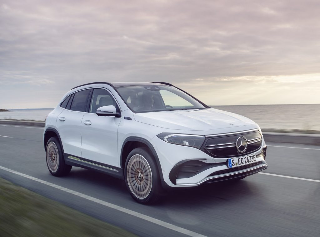2021 Mercedes EQA front driving