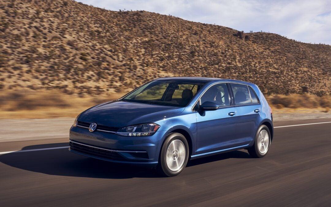 VW Ends Production, Drops U.S. Version of Golf Hatchback