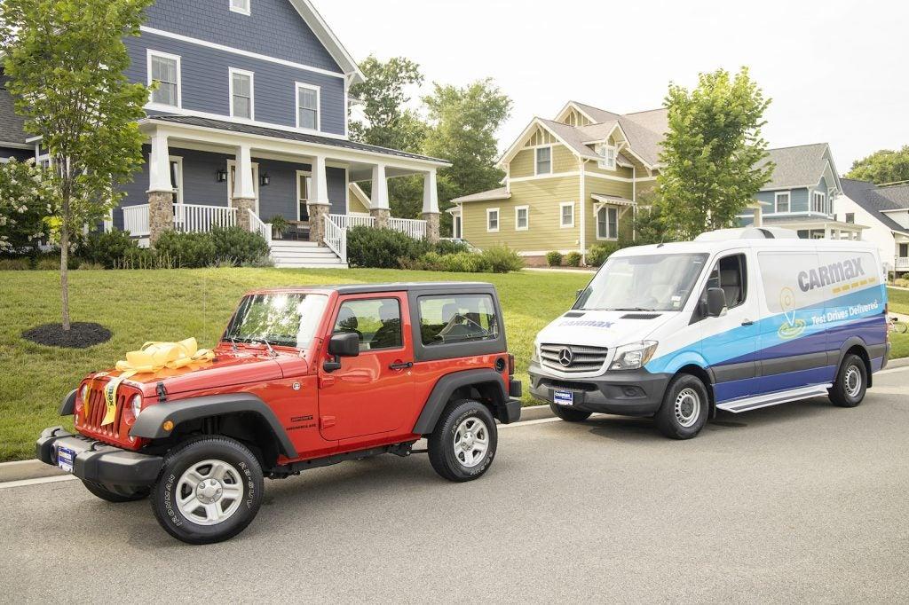 CarMax home delivery