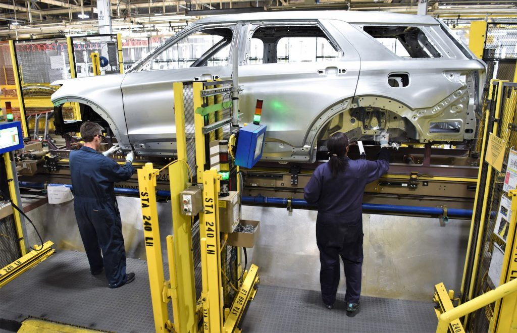 Ford Chicago Assembly line 2019