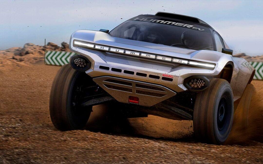GMC Hummer Set to Go Rally Racing