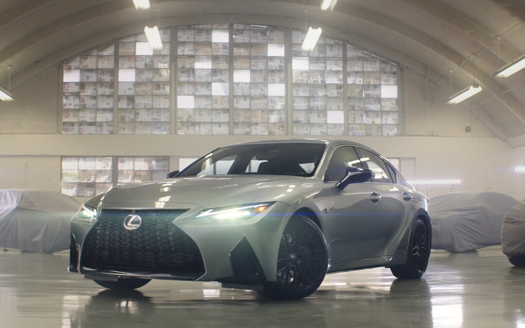 New Lexus IS Ad Campaign Shows Commitment to Passenger Cars