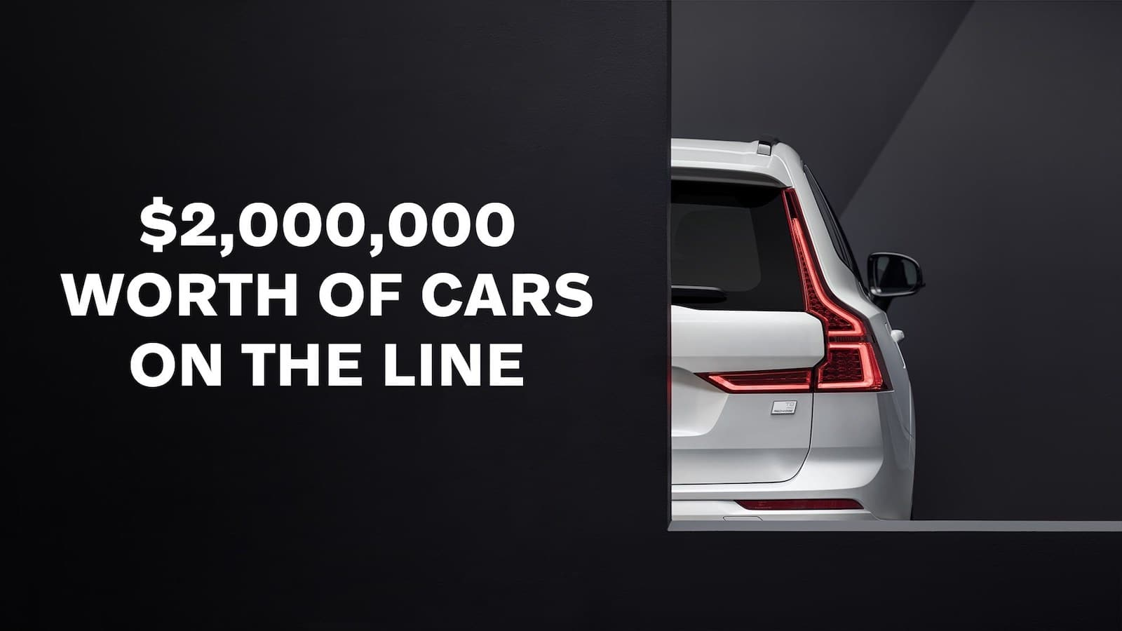 volvo giving away $2m in new vehicles for safety — a