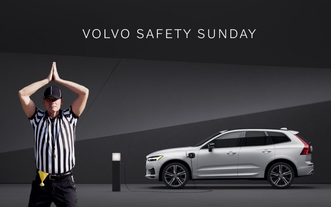 Volvo Giving Away $2M in New Vehicles for Safety — A Safety in the Super Bowl