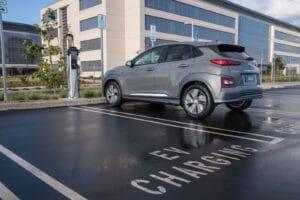 2019 Hyundai Kona EV charging