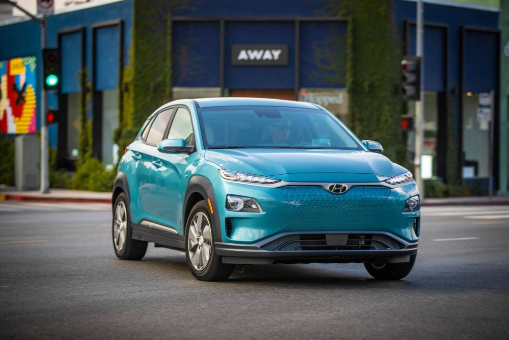 2019 Hyundai Kona Electric front