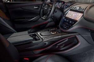 2021 Aston Martin DBX center console