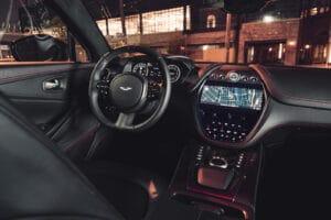 2021 Aston Martin DBX cockpit
