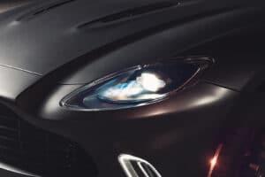 2021 Aston Martin DBX headlight