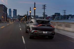 2021 Aston Martin DBX rear
