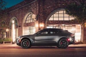 2021 Aston Martin DBX side