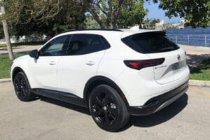 2021 Buick Envision Essence rear