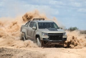 2021 Chevrolet Colorado ZR2 desert romp