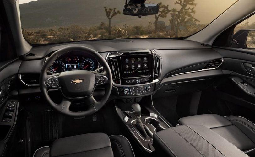 2021 Chevrolet Traverse interior