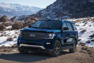 2021 Ford Expedition STX front