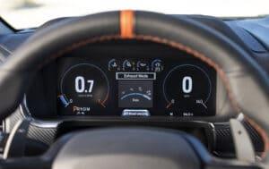 2021 Ford F-150 Raptor gauges