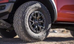2021 Ford F-150 Raptor wheel