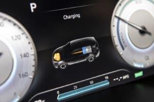 2021 Hybrid Santa Fe charging