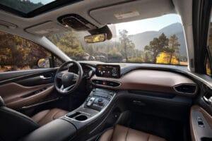 2021 Hyundai Santa Fe HEV interior