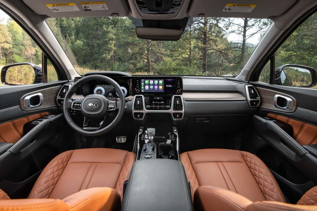 2021 Kia Sorento X-Line interior