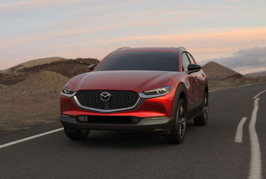 2021 Mazda CX-30 front