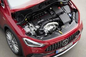 2021 Mercedes-AMG GLA 35 engine