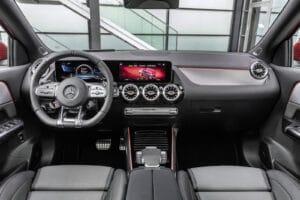 2021 Mercedes-AMG GLA 35 interior
