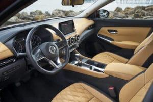 2021 Nissan Sentra cockpit