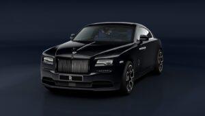 2021 Rolls-Royce Wraith Black Badge front