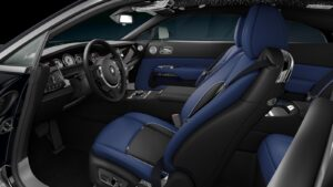 2021 Rolls-Royce Wraith Black Badge seats